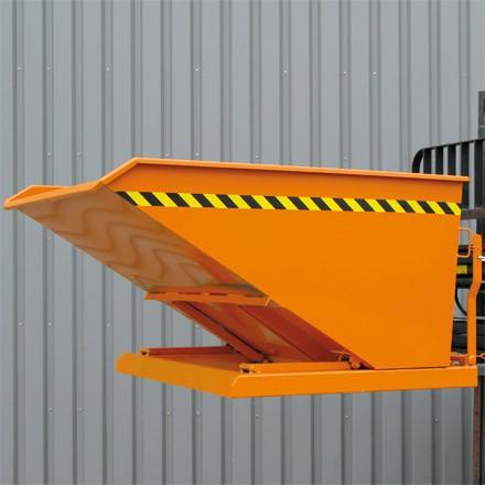 Eichinger Kippbehälter 400L in niedriger Bauhöhe mit flachem Kippwinkel – Bild 1