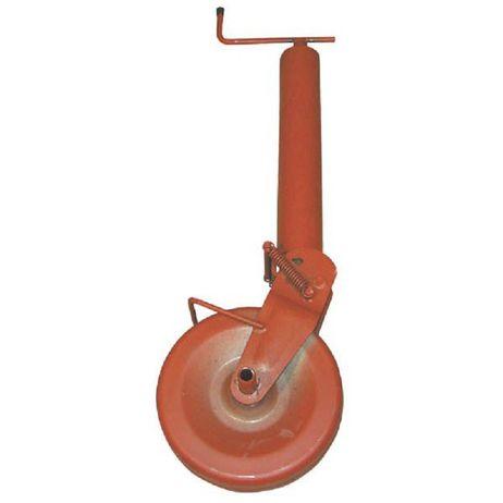 SIMOL Stützrad für Anhänger  Stützlast 1500 kg halbautomatisch Klappvorgang mit Feder – Bild 1