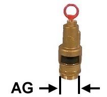 Sicherheitsventil 2 Zoll für Güllekompressor