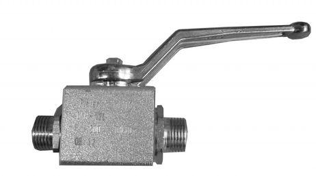 Hydraulik Absperrkugelhahn M18 x 1,5 NW: 10  Rohr-AD: 12 mm M18 x 1,5mm