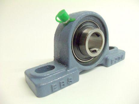 Stehlager Gehäuselager UCP 207 mit Gußgehäuse für 35 mm Welle 2-Loch