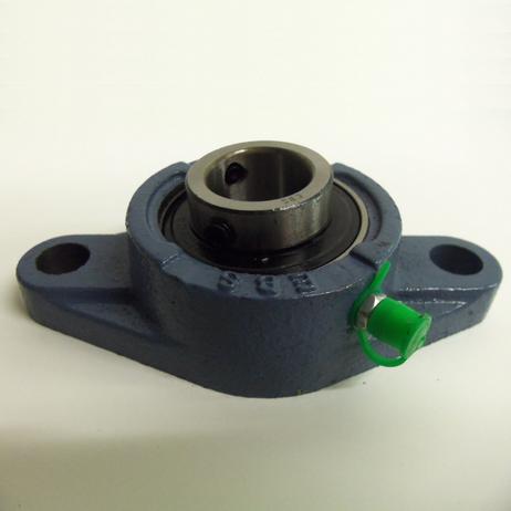 Flanschlager UCFL 206 oval mit Gußgehäuse für 30 mm Welle – Bild 1