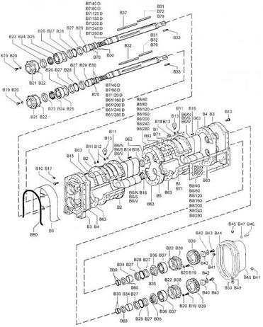Innenring B 34 - Ersatzteil passend für Drehkolbenpumpe BR 40 - 280