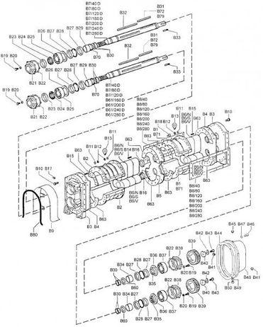 Abstandscheibe B 28 - Ersatzteil passend für Drehkolbenpumpe BR 40 - 280
