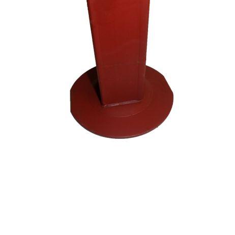 Stützfuß mit senkrechter Kurbel 800 kg, 60mm vierkant Spindelhub 350mm – Bild 2