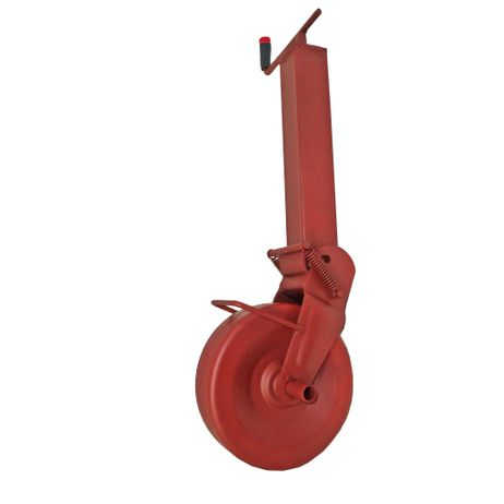 Simol Stützrad Anhängerstützrad halbautom. Federung 1400 kg Stützlast Vierkant – Bild 1