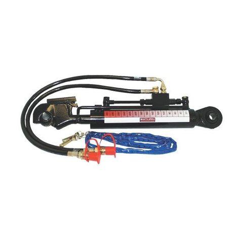 Hydraulischer Oberlenker  150mm Hub Kat. 1 mit Schlauchsatz 900mm – Bild 1