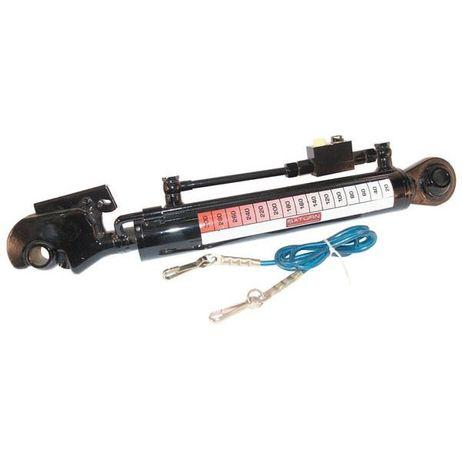 Hydraulischer Oberlenker  200mm Hub Kat. 1/1 mit Längenanzeige – Bild 1