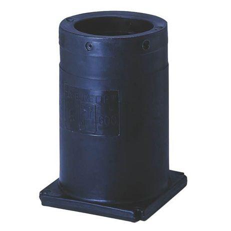 Polyethylen Standrohr 600mm für Tränkebecken standfest leicht zu installieren