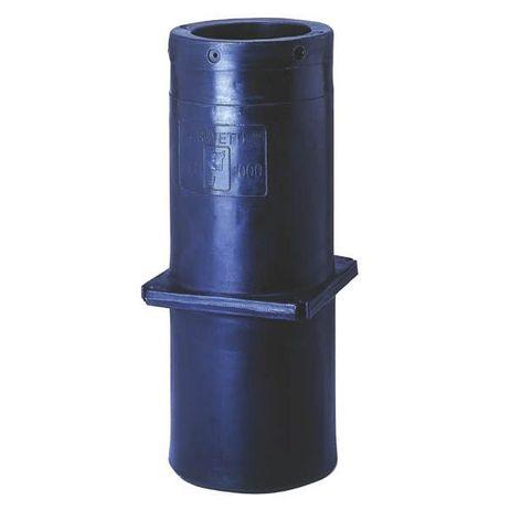 Polyethylen Standrohr 1000mm für Tränkebecken standfest Leicht zu installieren