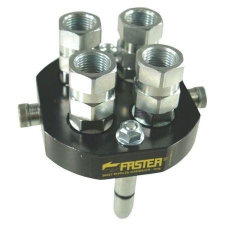 FASTER Multikupplung 4x DN10 Losteil für Hydraulikverbindungen – Bild 1