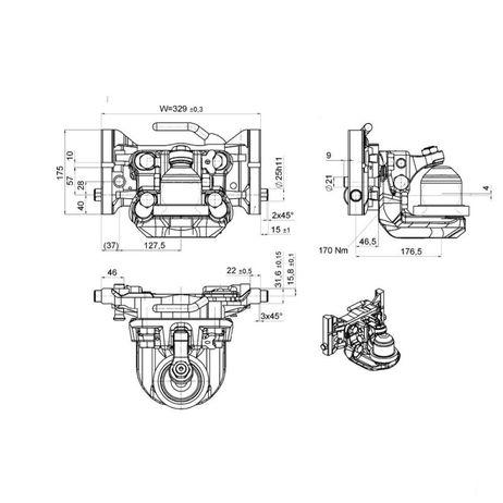 Kugelkupplung K80 330mm Scharmüller Fendt-Grau Kupplung 2T Stützlast – Bild 3