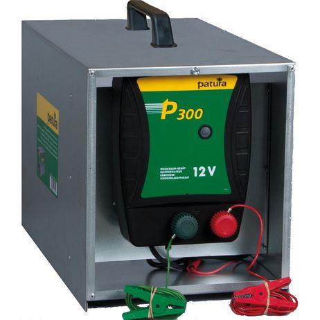 P300 mit offener Tragebox Weidezaun-Gerät für 12V Patura für Rinder und Pferde