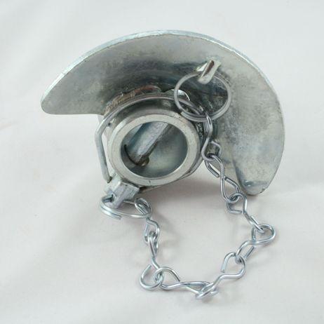 Unterlenker Kugel mit Fangschale Kat 3/3, 12mm Splint, verzinkt Kugelfangprofil – Bild 1