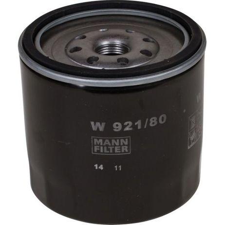 MANN Ölfilter W 921/80 A: 102mm B: 87mm C: 98mm H: 100mm Gewinde: M 20x1.5 – Bild 1