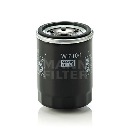 MANN Ölfilter W 610/1 A: 66mm B: 54mm C: 62mm H: 90mm Gewinde: 3/4-16 UNF – Bild 1