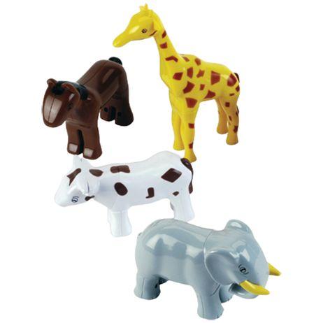 K0071 Klein Funny Puzzle Tierpuzzle 4 Tiere im Beutel