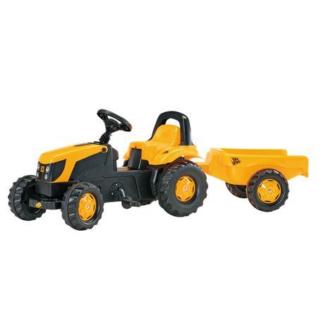 012619 Rolly Toys JCB mit Kid Trailer für Kinder ab ca. 2 1/2 bis 5 Jahren