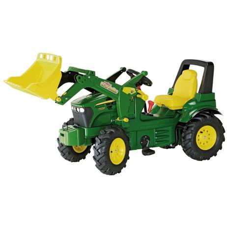 710126 Rolly Toys John Deere 7930 Trac Lader, Schaltung, Bremse, Luftbereifung