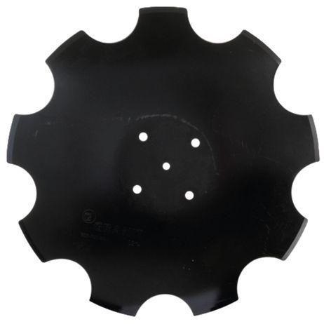 Tellerscheibe gezahnt    510 x 5 mm, Lochkreis-Ø 120 mm 78201966 passend für Amazone Catros, Catros+ Scheiben-Version 2/3 – Bild 1