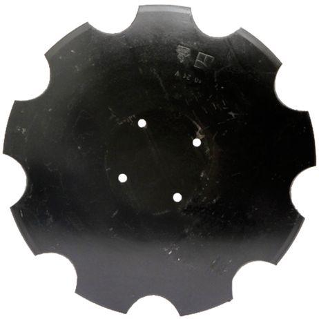 Tellerscheibe gezahnt, 460 x 4 mm, Lochkreis-Ø 120 mm XL043 passend für Amazone Catros, Catros+ Scheiben-Version 2/3 – Bild 1