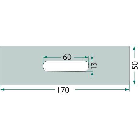 Abstreifer-Blech  84062501 passend für Rabe   – Bild 2