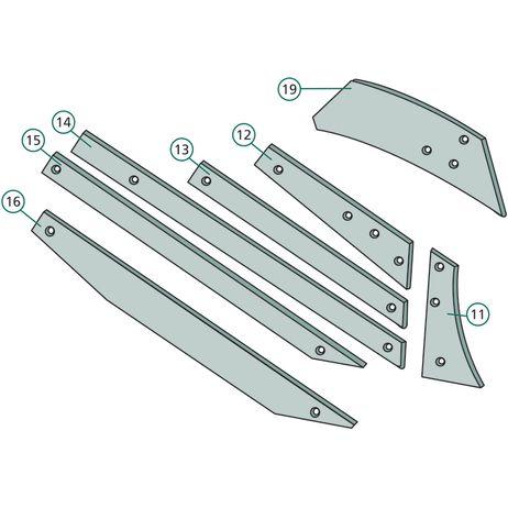 Anlage  kurz, rechts und links 27510306 passend für Rabe      – Bild 2
