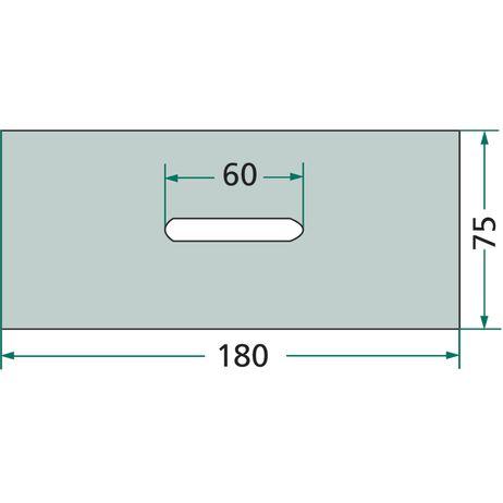 Kunststoff-Abstreifer  52532130, 52532120 passend für Kuhn   – Bild 2